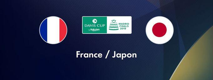 Coupe Davis France - Japon