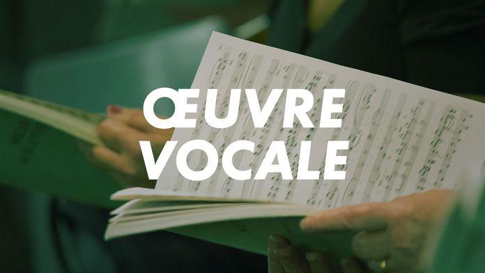 Œuvre Vocale