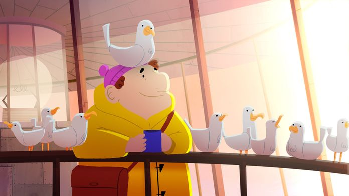 En sortant de l'école : Le gardien du phare aime trop les oiseaux
