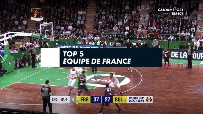 TOP 5 - Equipe de France en FIBAWC Qualifiers