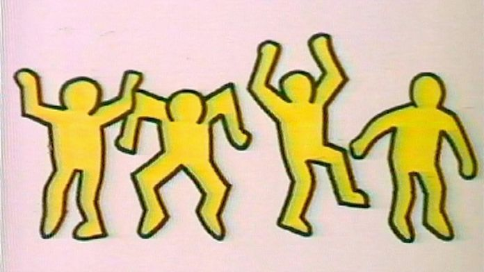 Drawing the Line : portrait de Keith Haring