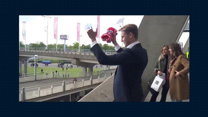 L'adieu de De Jong à ses supporters