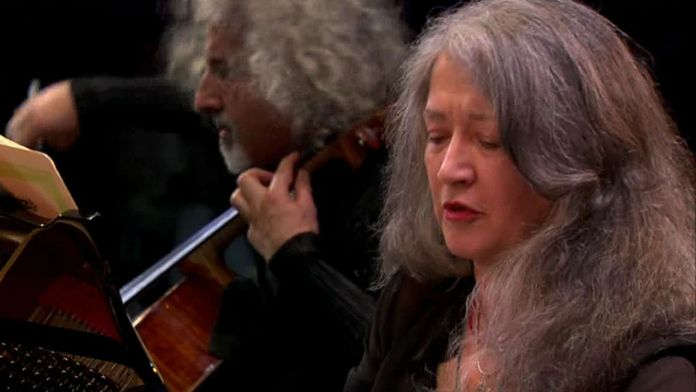 Martha Argerich joue Bach, Mozart et Grieg