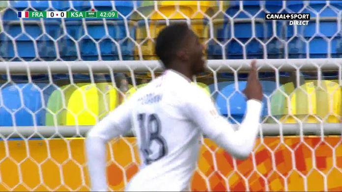 Fofana ouvre le score juste avant la mi-temps