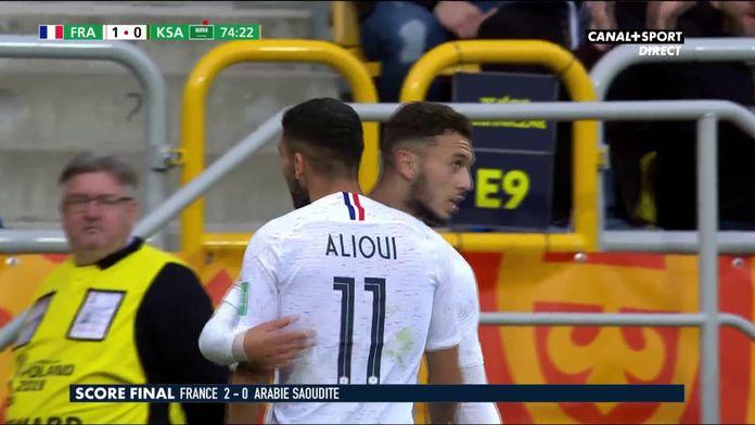 Le résumé de France / Arabie Saoudite