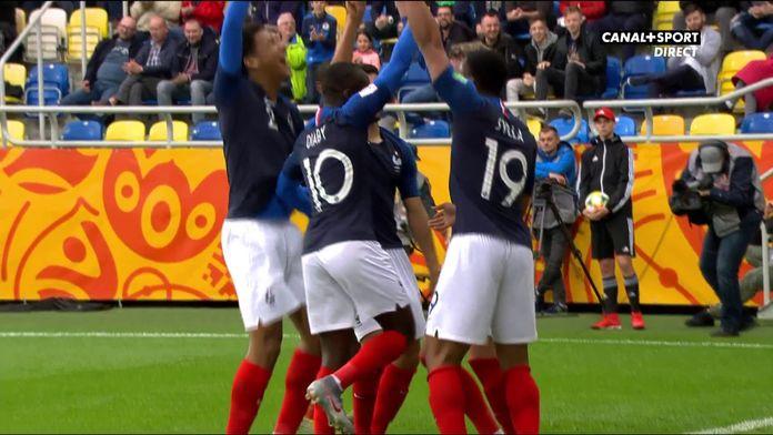 Deux buts magnifiques en deux minutes lors de Mali / France