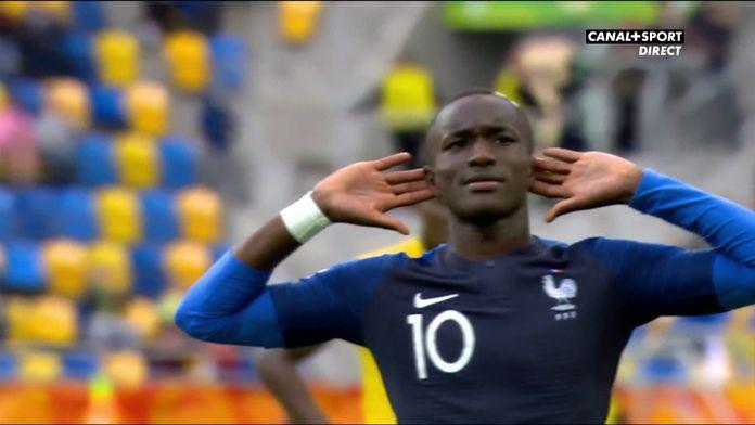 La France reprend l'avantage sur penalty !