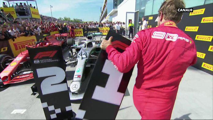 L'incroyable geste Sebastian Vettel