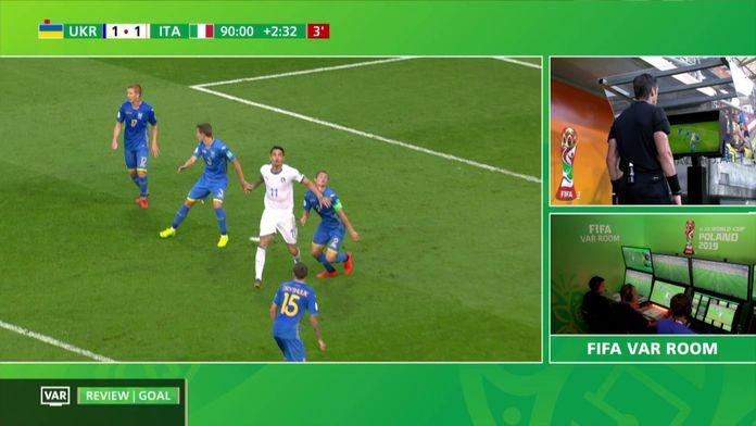 Coupe du Monde U-20 de la FIFA - Le résumé d'Ukraine / Italie