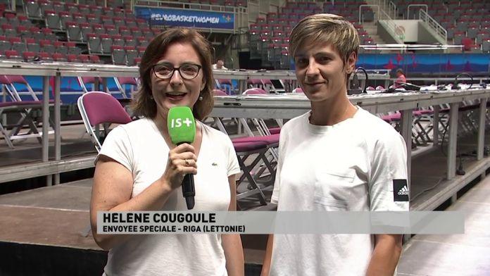 Céline Dumerc au Micro d'Hélène Cougoule