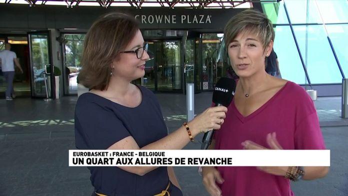 """Céline Dumerc : """"La pression monte, l'adrénaline fait son effet"""""""
