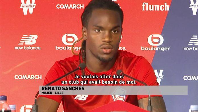 """Renato Sanches : """"je voulais un club qui a besoin de moi"""""""