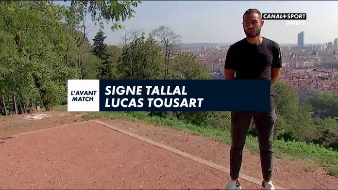 Signé Tallal avec Lucas Tousart (Olympique Lyonnais)