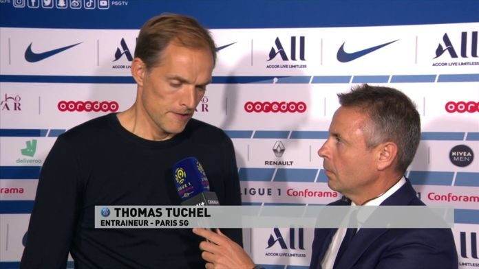 """Tuchel : """"Je suis déçu de notre performance"""""""
