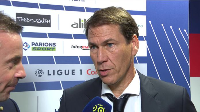 Rudi Garcia se confie avant son premier match avec Lyon