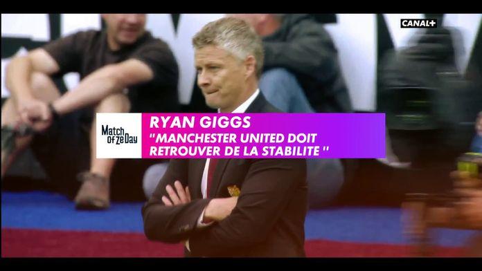 """Ryan Giggs : """"Manchester United doit retrouver de la stabilité"""""""