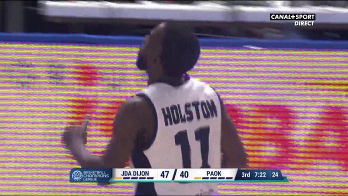 David Holston (Dijon) chaud à 3 points !