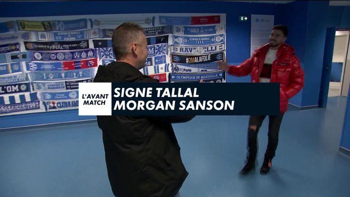 Signé Tallal avec Morgan Sanson