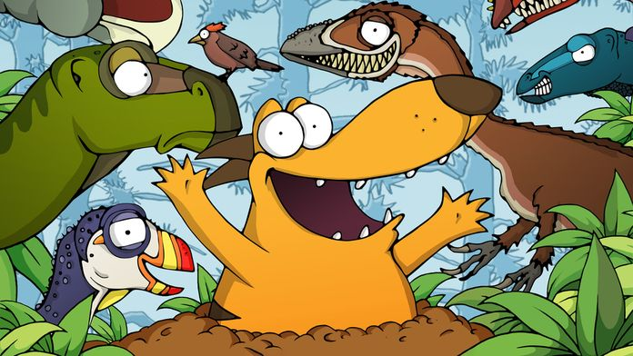 Ralph et les dinosaures