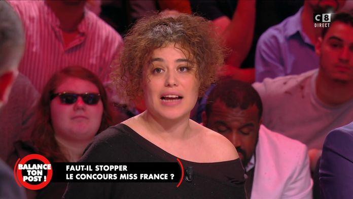Fatima Benomar, militante féministe s'exprime sur le concours Miss France