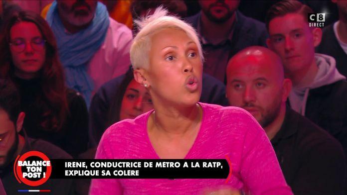 """Irène, conductrice de métro à la RATP : """"Avec 1600 euros en France on ne s'en sort pas"""""""