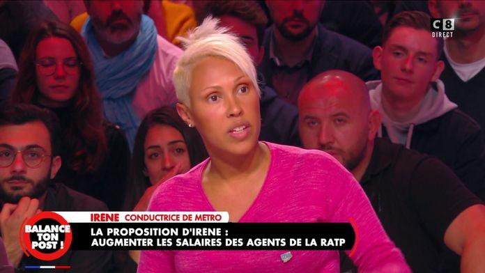 Irène, agente RATP confirme la reconduction de la grève à la RATP