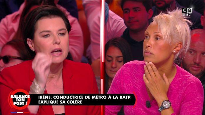"""Laurence Sailliet pousse un coup de gueule contre la grève : """"Ne pensez pas qu'à vous"""""""