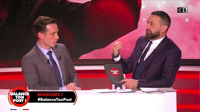 Cyril Hanouna interpelle Jean-Baptiste Djebbari sur les conséquences de la grève des transports