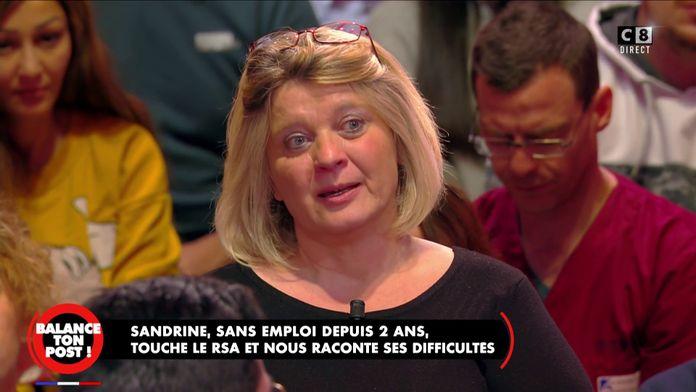 """Sandrine, sans-emploi : """"A l'âge de 51 ans, on me dit que je suis trop vieille pour travailler"""""""