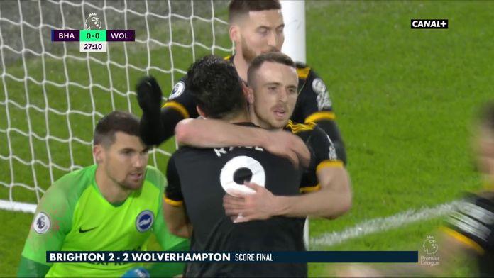 Le résumé de Brighton - Wolverhampton
