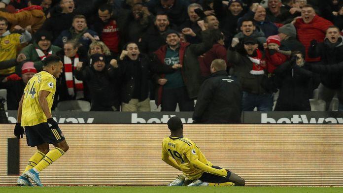 Le bijou de Nicolas Pépé face à West Ham !