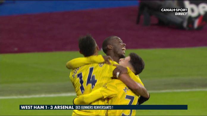 West Ham / Arsenal : des Gunners renversants !