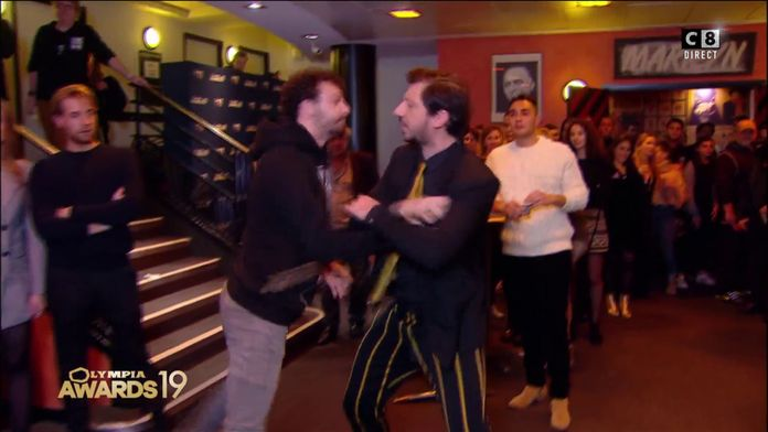 Quand Monsieur Poulpe et Roman Frayssinet se disputent pour un sandwich