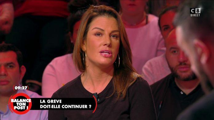 Pamela Faivre, commerçante souhaite l'arrêt de la grève pour pouvoir maintenir son commerce
