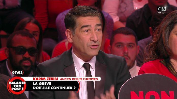 """Karim Zeribi s'exprime sur les grèves  : """"Ce sont les commerçants qui vont le plus trinquer"""""""