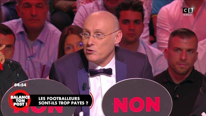 Bernard Laporte s'exprime sur le montant des salaires des footballeurs