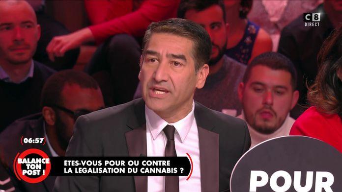Karim Zeribi explique pourquoi il est radicalement contre la légalisation du cannabis