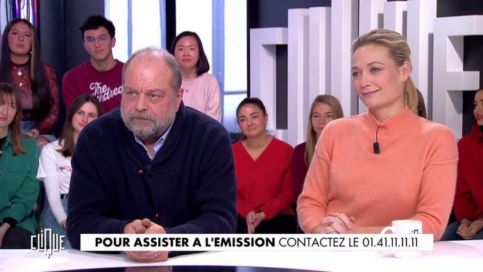 Éric Dupond-Moretti et Caroline Vigneaux