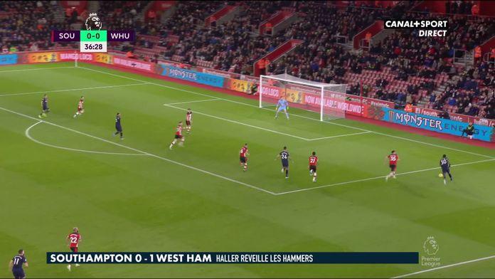 Le résumé de Southampton / West Ham