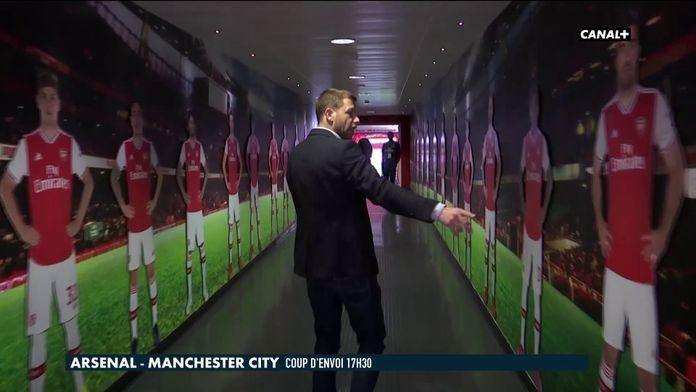 Dans les coulisses de l'Emirates Stadium