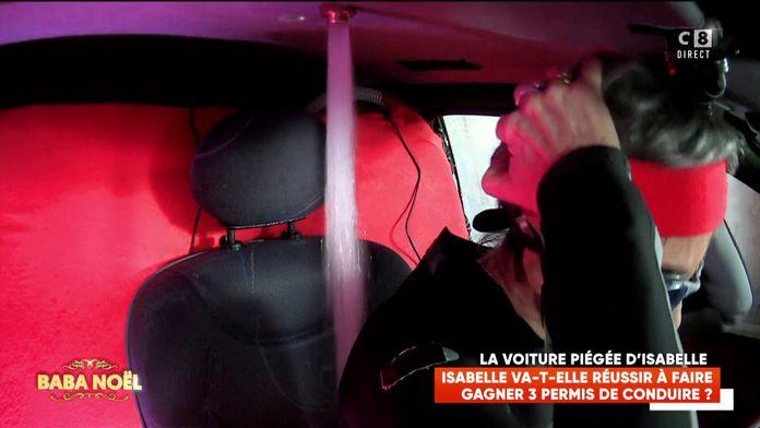 Isabelle Morini-Bosc doit vaincre sa phobie de l'eau pour faire gagner trois permis de conduire