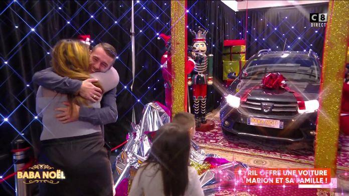 Baba offre une voiture à Marion et à sa famille !