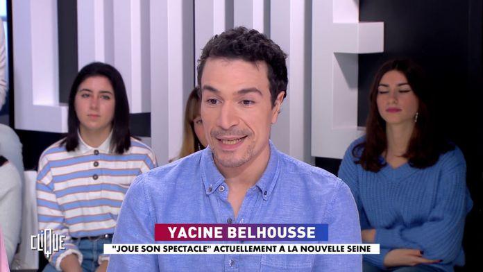 Yacine Belhousse : joue son spectacle