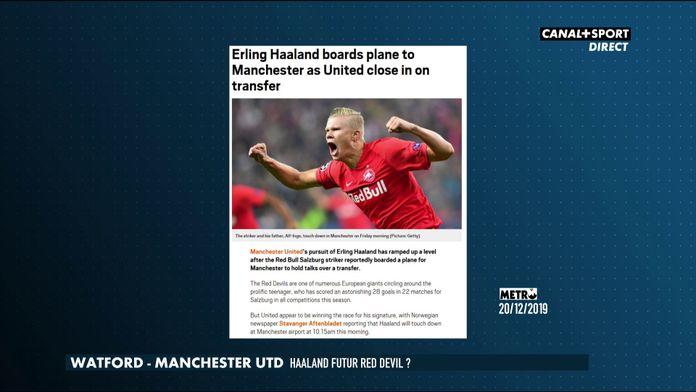 Haaland vers Manchester United ?