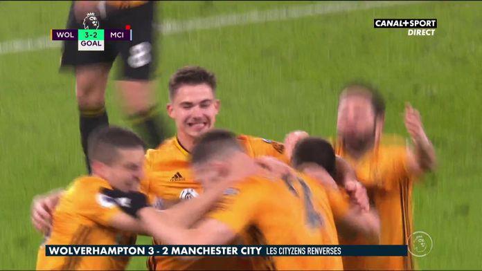 Le retour incroyable de Wolverhampton contre Manchester City !