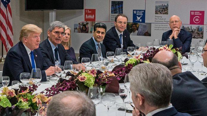 Au coeur du forum de Davos