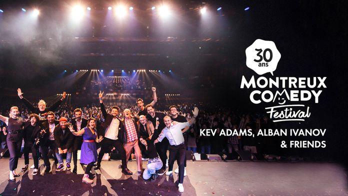 Kev Adams, Alban Ivanov & friends : Montreux fête ses 30 ans !