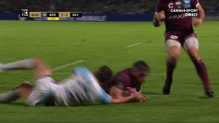 Kane Douglas pour le 2e essai de Bordeaux - Top 14