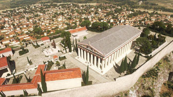 Mégapolis, les plus grandes villes de l'Antiquité : Athènes