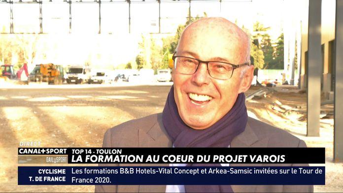 Bernard Lemaître, entretien avec un passionné à la tête du RCT